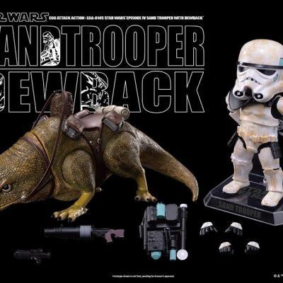 STAR WARS - Egg Attack - DEWBACK&IMPERIAL SANDTROOPER Vinyl Figure
