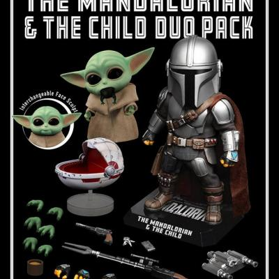 STAR WARS - Egg Attack - MANDALORIAN & THE CHILD DUO PACK Vinyl Figure