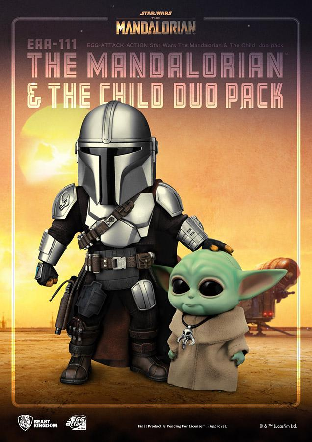 Star wars egg attack mandalorian the child duo pack1