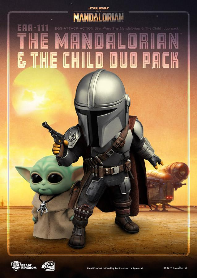 Star wars egg attack mandalorian the child duo pack2