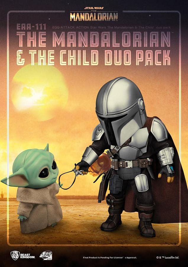 Star wars egg attack mandalorian the child duo pack4