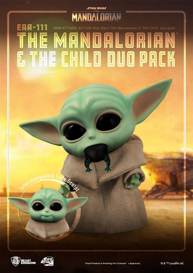 Star wars egg attack mandalorian the child duo pack5