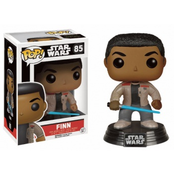 Star wars episode vii the force awakens funko pop finn with lightsaber vinyl figure 10cm