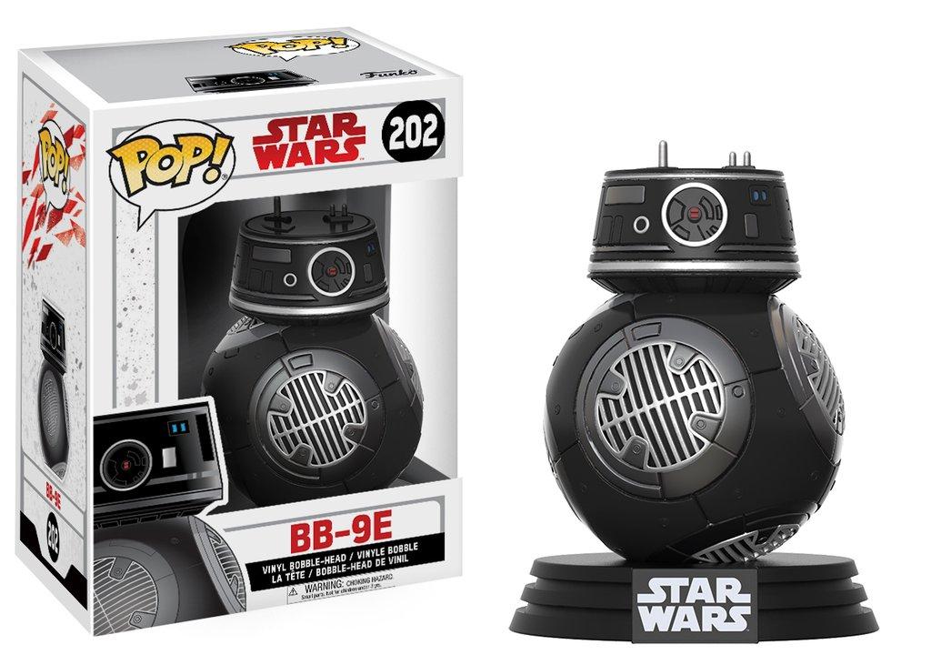 Star wars episode viii the last jedi funko pop bb 9e vinyl figurine 10cm