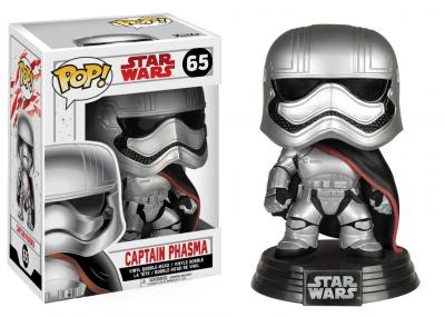 STAR WARS Episode VIII The Last Jedi FUNKO POP - Captain Phasma Vinyl Figure 10cm