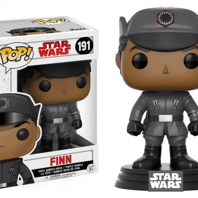 STAR WARS Episode VIII The Last Jedi FUNKO POP - Finn Vinyl Figurine 10cm