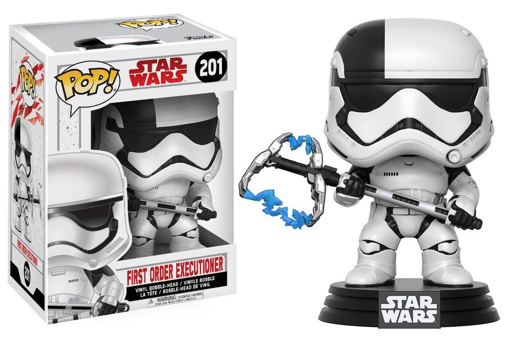 Star wars episode viii the last jedi funko pop first order executioner vinyl figurine 10cm