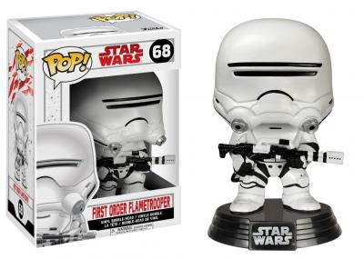 STAR WARS Episode VIII The Last Jedi FUNKO POP - First Order Flametrooper Vinyl Figure 10cm