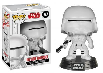 STAR WARS Episode VIII The Last Jedi - FUNKO POP - First Order Snowtrooper Vinyl Figurine 10cm