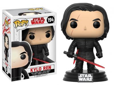 STAR WARS Episode VIII The Last Jedi FUNKO POP - Kylo Ren Vinyl Figure 10cm