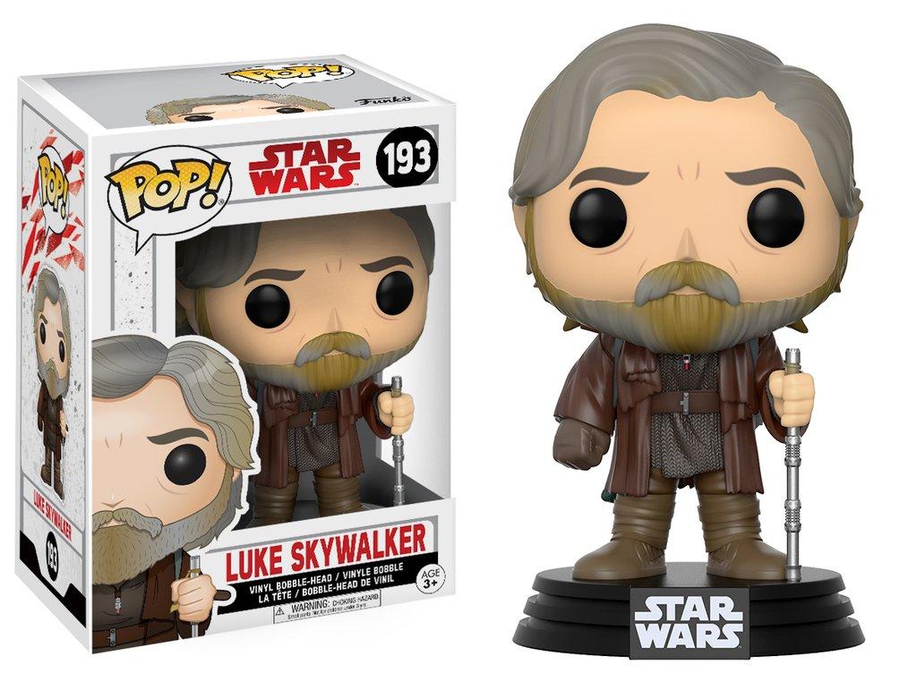 Star wars episode viii the last jedi funko pop luke skywalker vinyl figurine 10cm