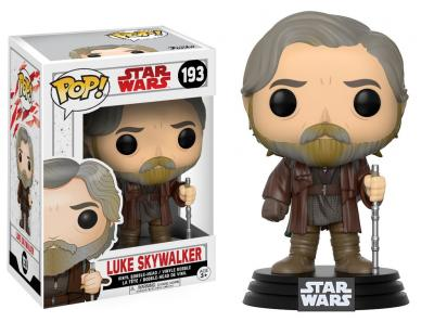 STAR WARS Episode VIII The Last Jedi FUNKO POP - Luke Skywalker Vinyl Figure 10cm