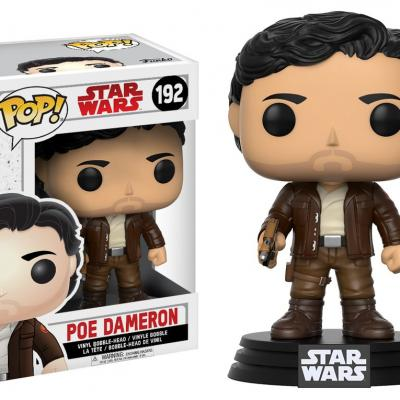 STAR WARS Episode VIII The Last Jedi FUNKO POP - Poe Dameron Vinyl Figurine 10cm