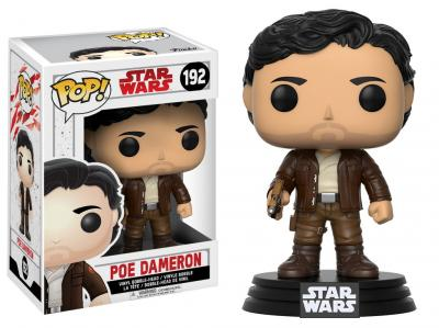 STAR WARS Episode VIII The Last Jedi FUNKO POP - Poe Dameron Vinyl Figure 10cm