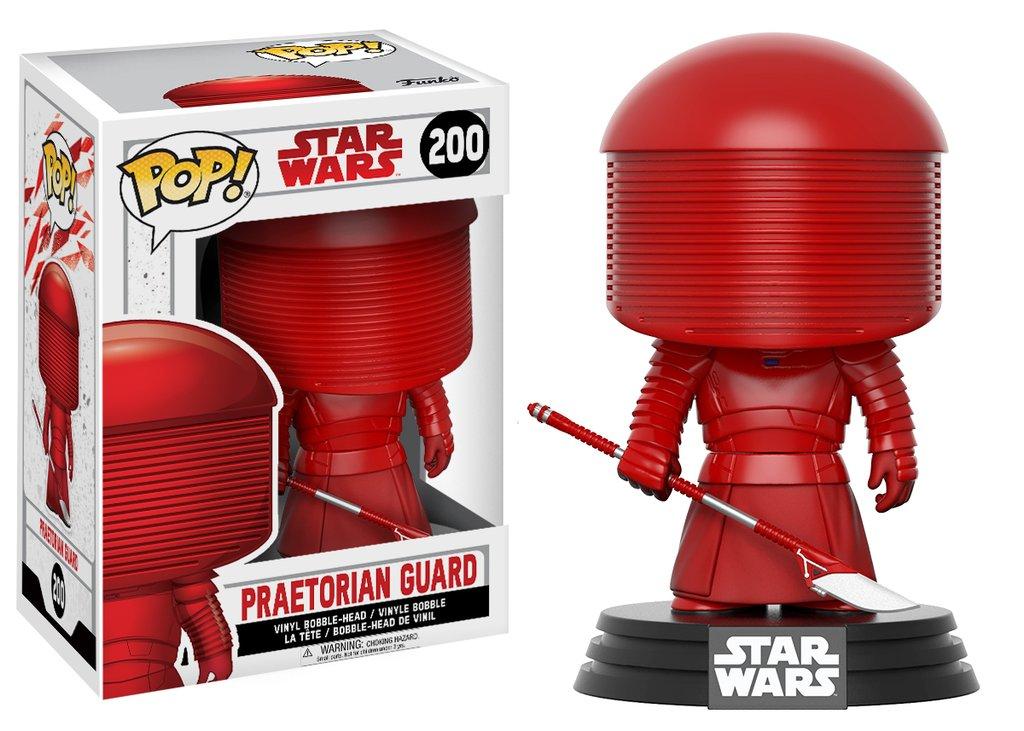 Star wars episode viii the last jedi funko pop praetorian guard vinyl figurine 10cm
