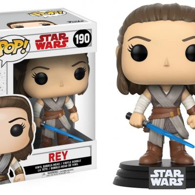 STAR WARS Episode VIII The Last Jedi FUNKO POP - Rey Vinyl Figurine 10cm