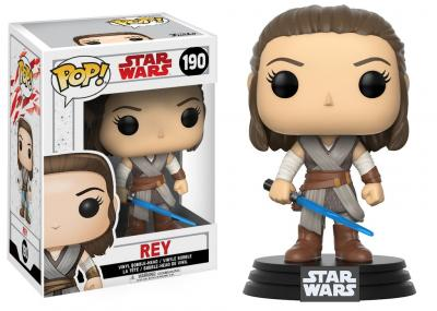 STAR WARS Episode VIII The Last Jedi FUNKO POP - Rey Vinyl Figure 10cm