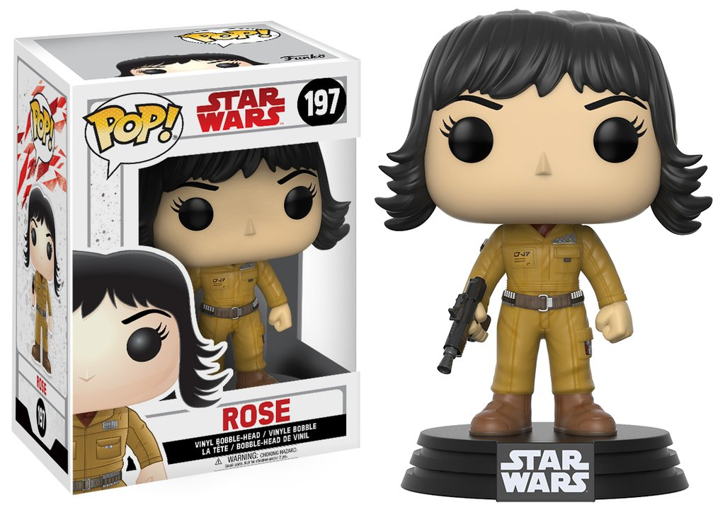 Star wars episode viii the last jedi funko pop rose vinyl figurine 10cm