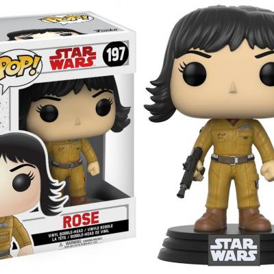 STAR WARS Episode VIII The Last Jedi FUNKO POP - Rose Vinyl Figurine 10cm