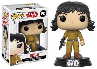 STAR WARS Episode VIII The Last Jedi FUNKO POP - Rose Vinyl Figure 10cm