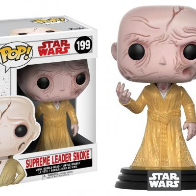 STAR WARS Episode VIII The Last Jedi FUNKO POP - Supreme Leader Snoke Vinyl Figurine 10cm
