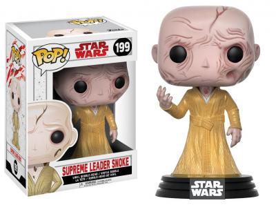 STAR WARS Episode VIII The Last Jedi FUNKO POP - Supreme Leader Snoke Vinyl Figure 10cm