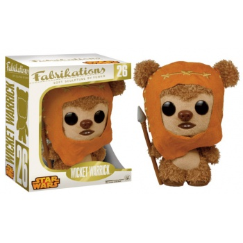 Star wars funko fabrikations wicket warrick plush action figure 14cm