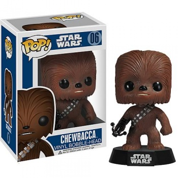 Star wars funko pop chewbacca bobble head 10cm