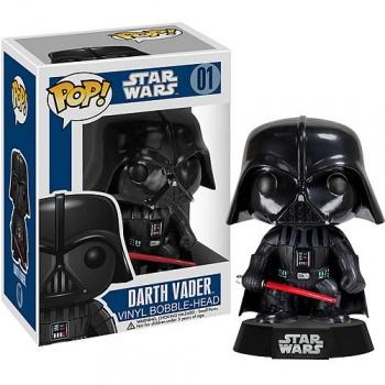 Star wars funko pop darth vader bobble head 10cm