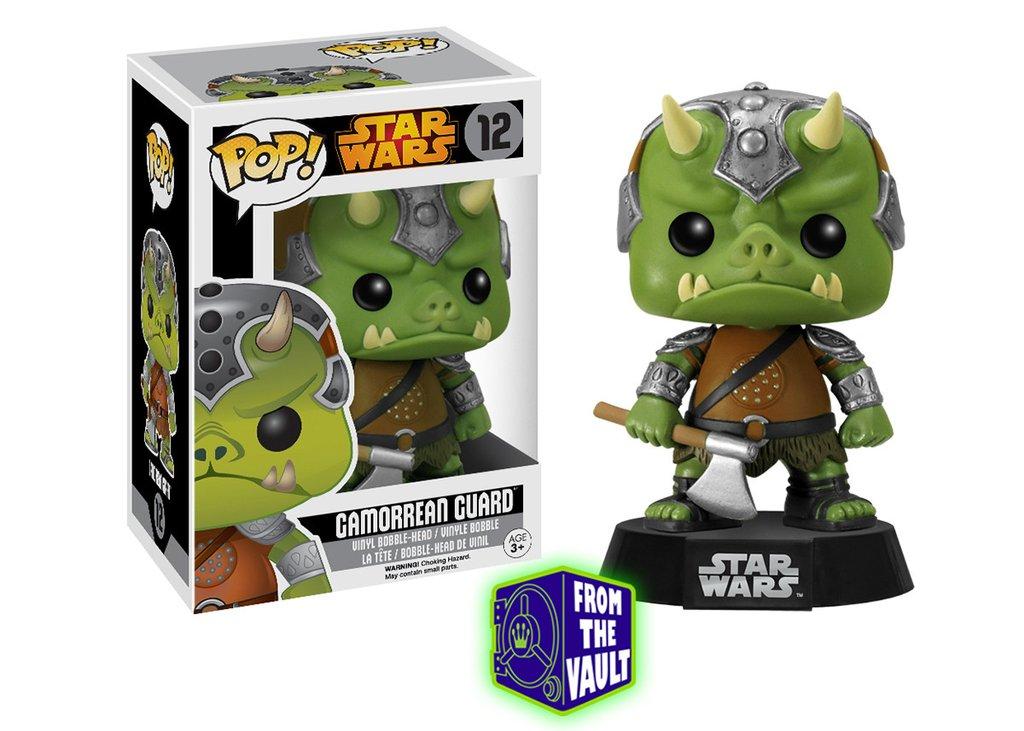 Star wars funko pop gamorrean guard bobble head 10cm limited black box