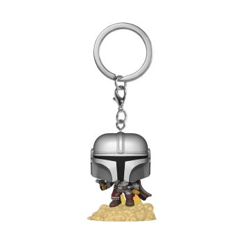 Star wars funko pop keychain the mandalorian floating
