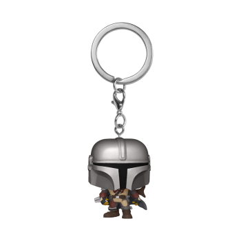 Star wars funko pop keychain the mandalorian