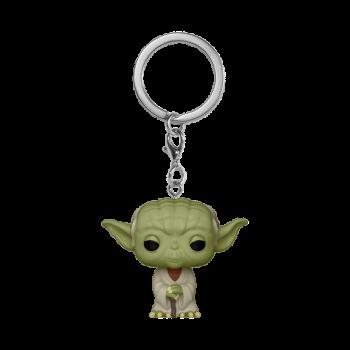 STAR WARS - FUNKO POP Keychain - Yoda Vinyl Figurine