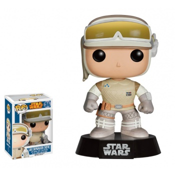 Star wars funko pop luke skywalker on hoth bobble head 10cm