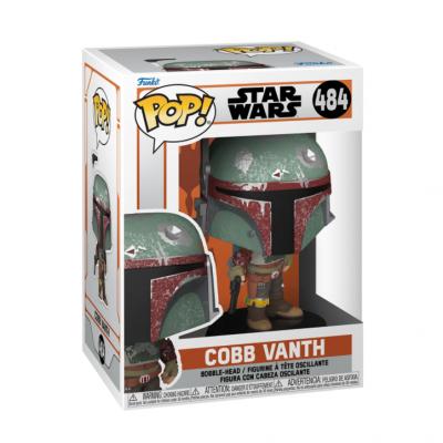 Star wars mandalorian funko pop marshal cobb vanth 10cm