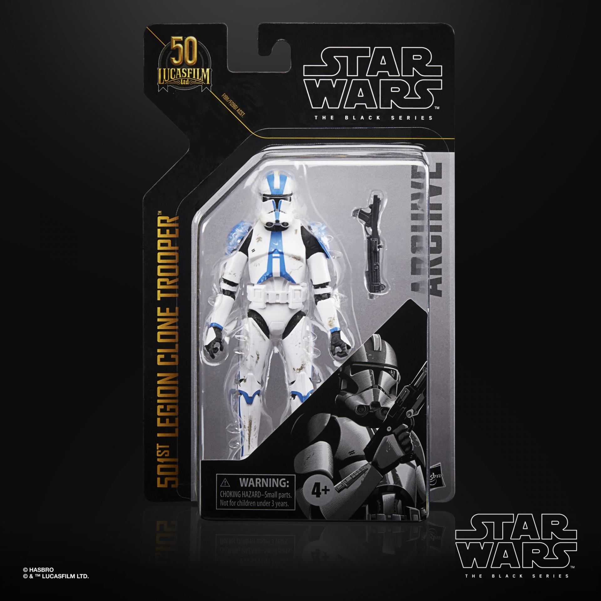 Star wars the black series archive 501st legion clone trooper 15cm