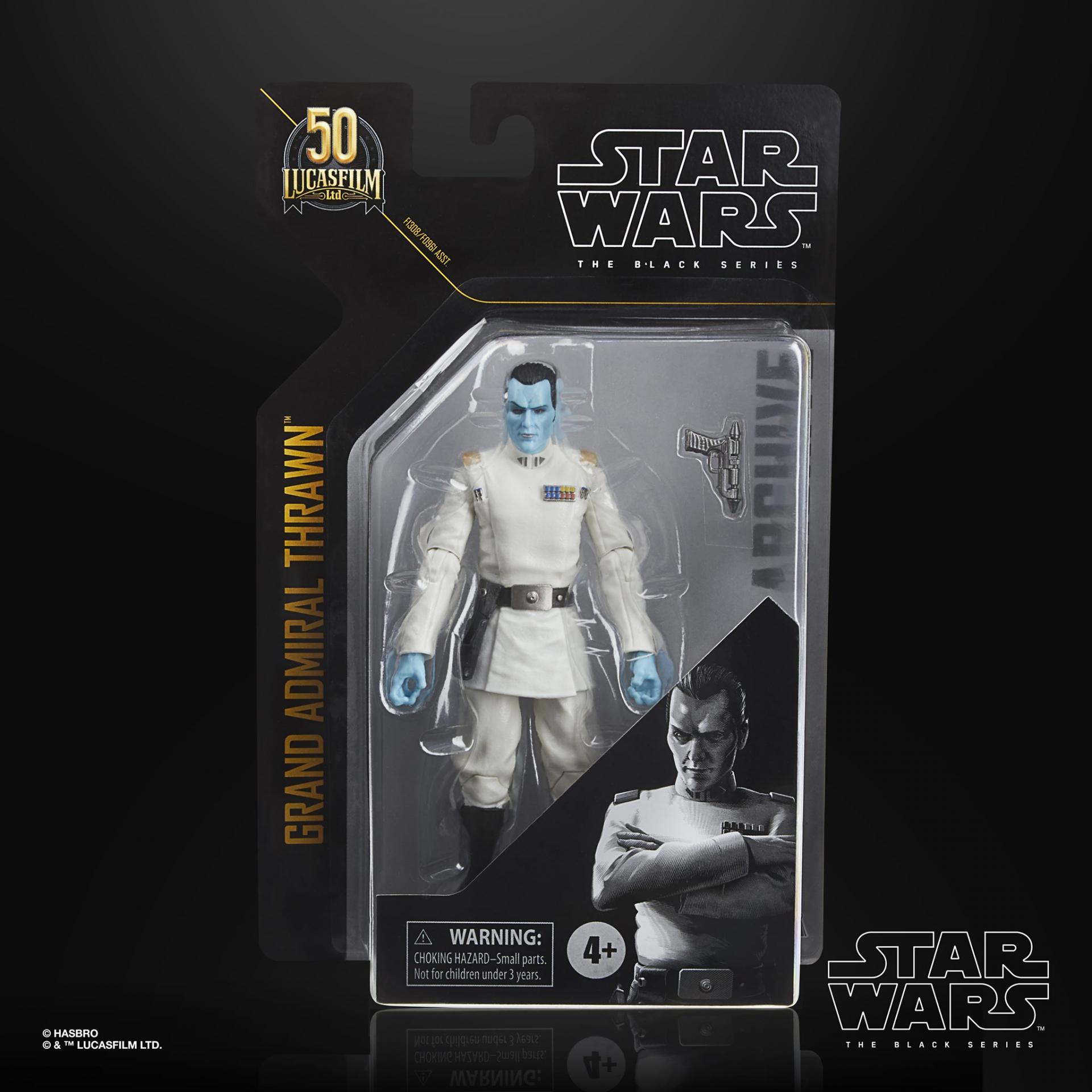 Star wars the black series archive amiral thrawn 15cm