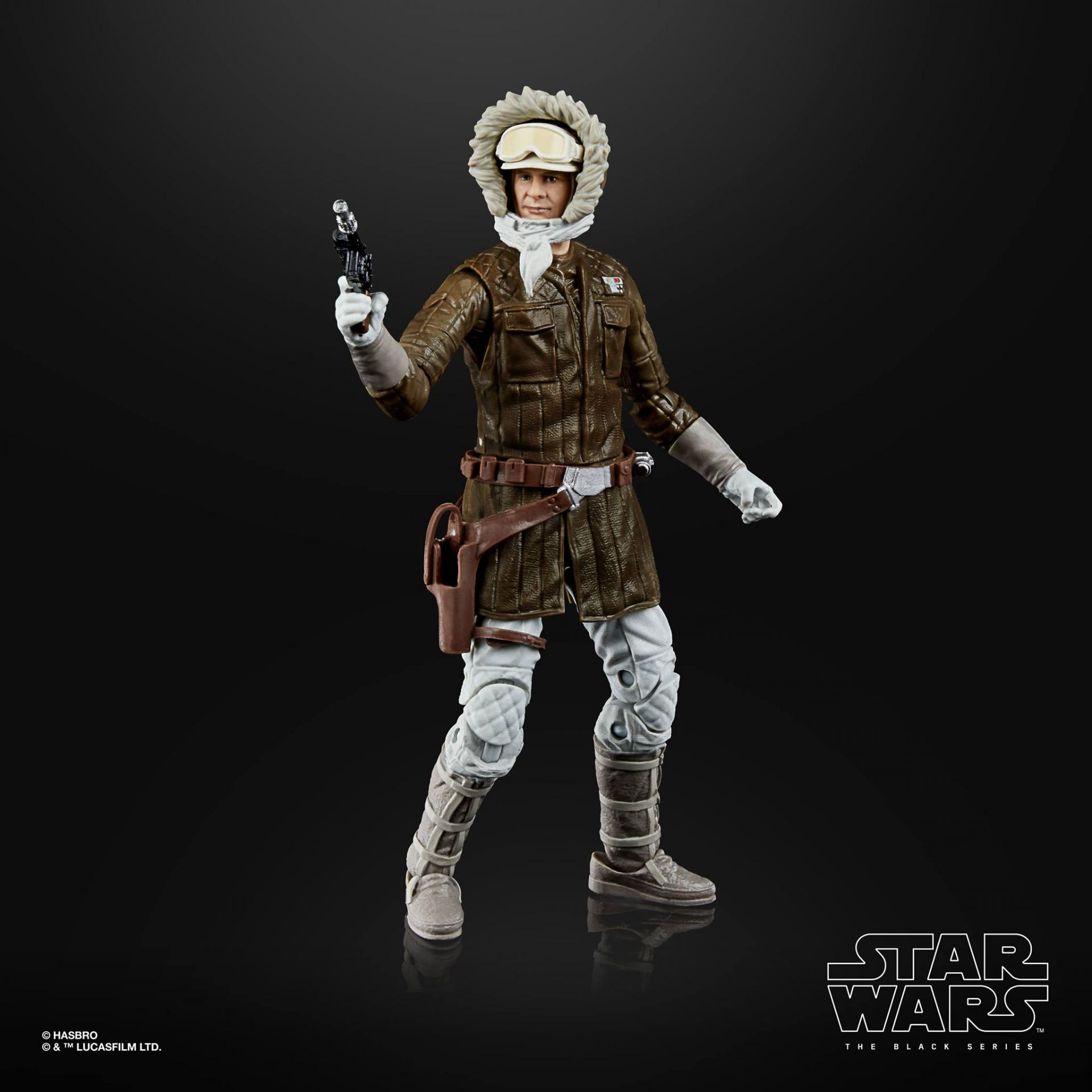 Star wars the black series archive han solo hoth 15cm1