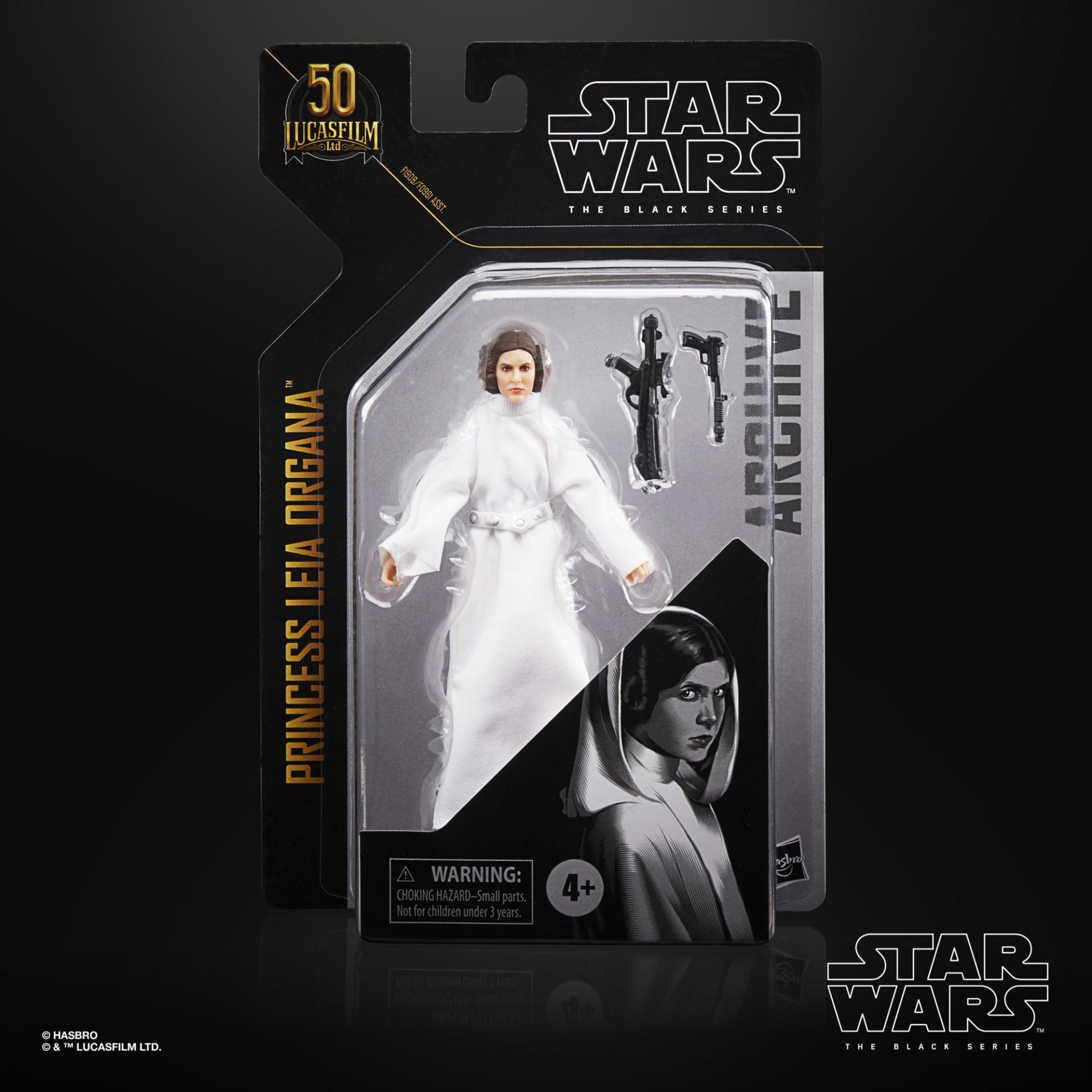 Star wars the black series archive princess leia organa 15cm