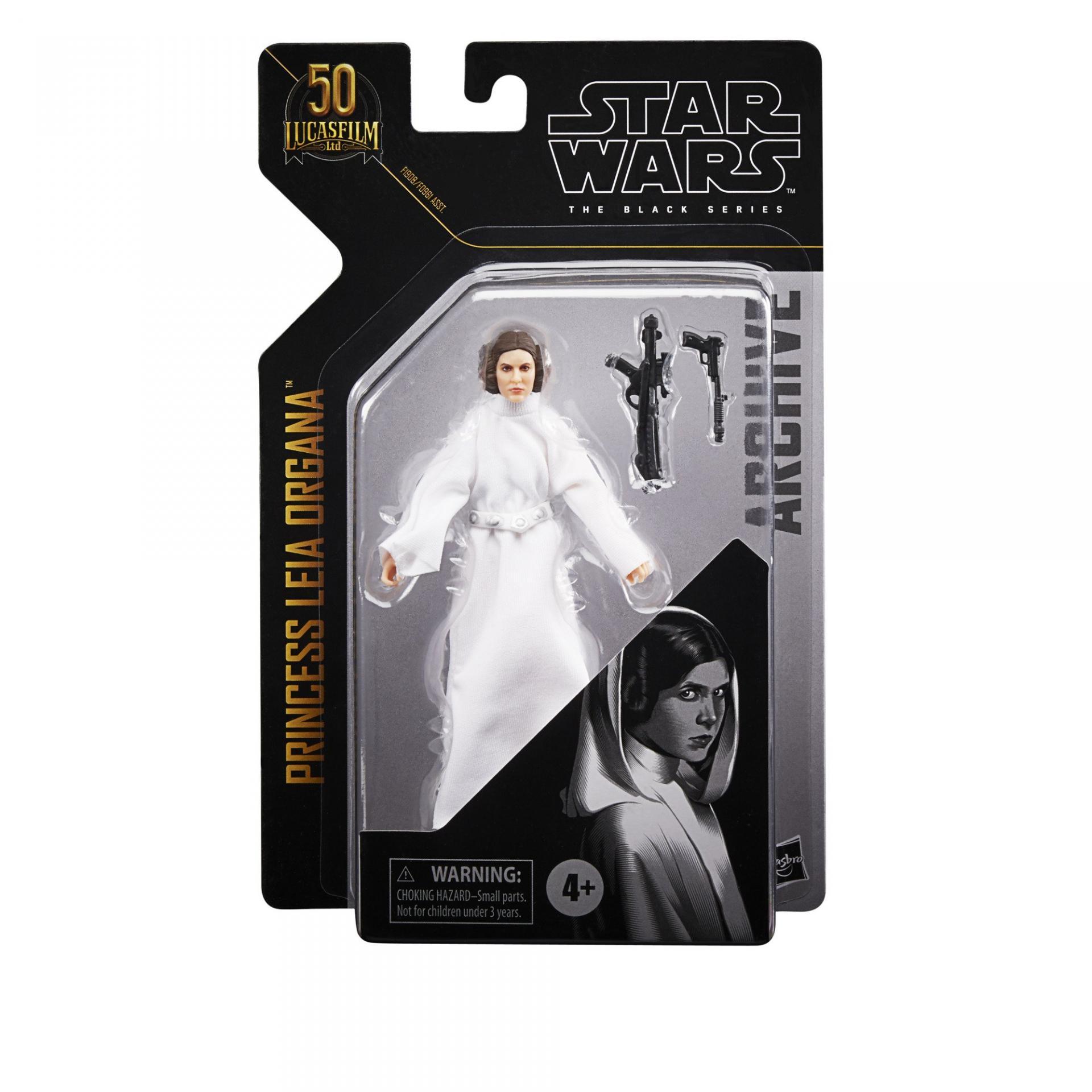 Star wars the black series archive princess leia organa 15cm5