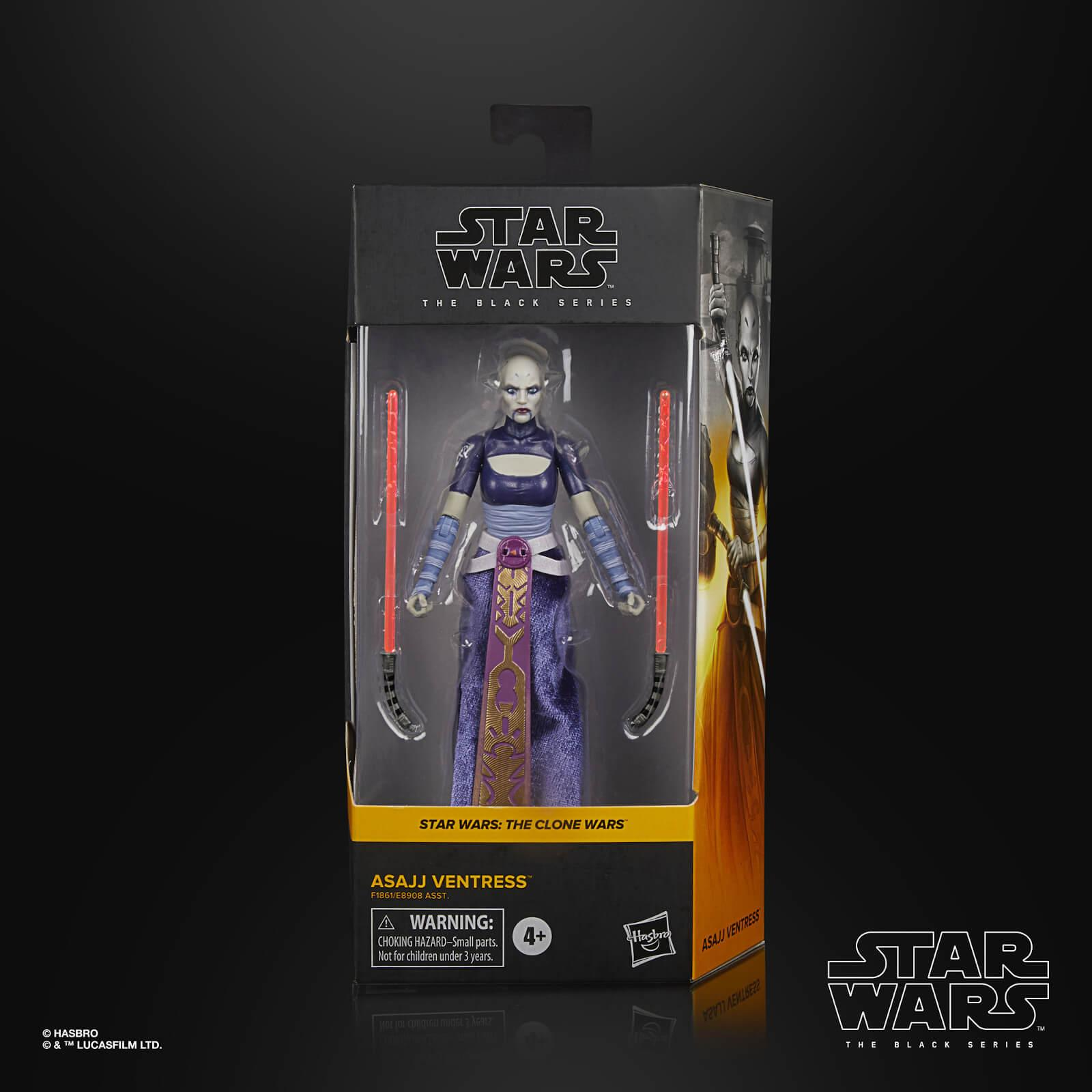 Star wars the black series asajj ventress 15cm
