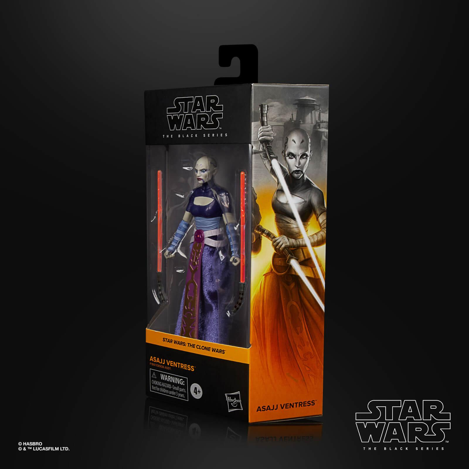 Star wars the black series asajj ventress 15cm1