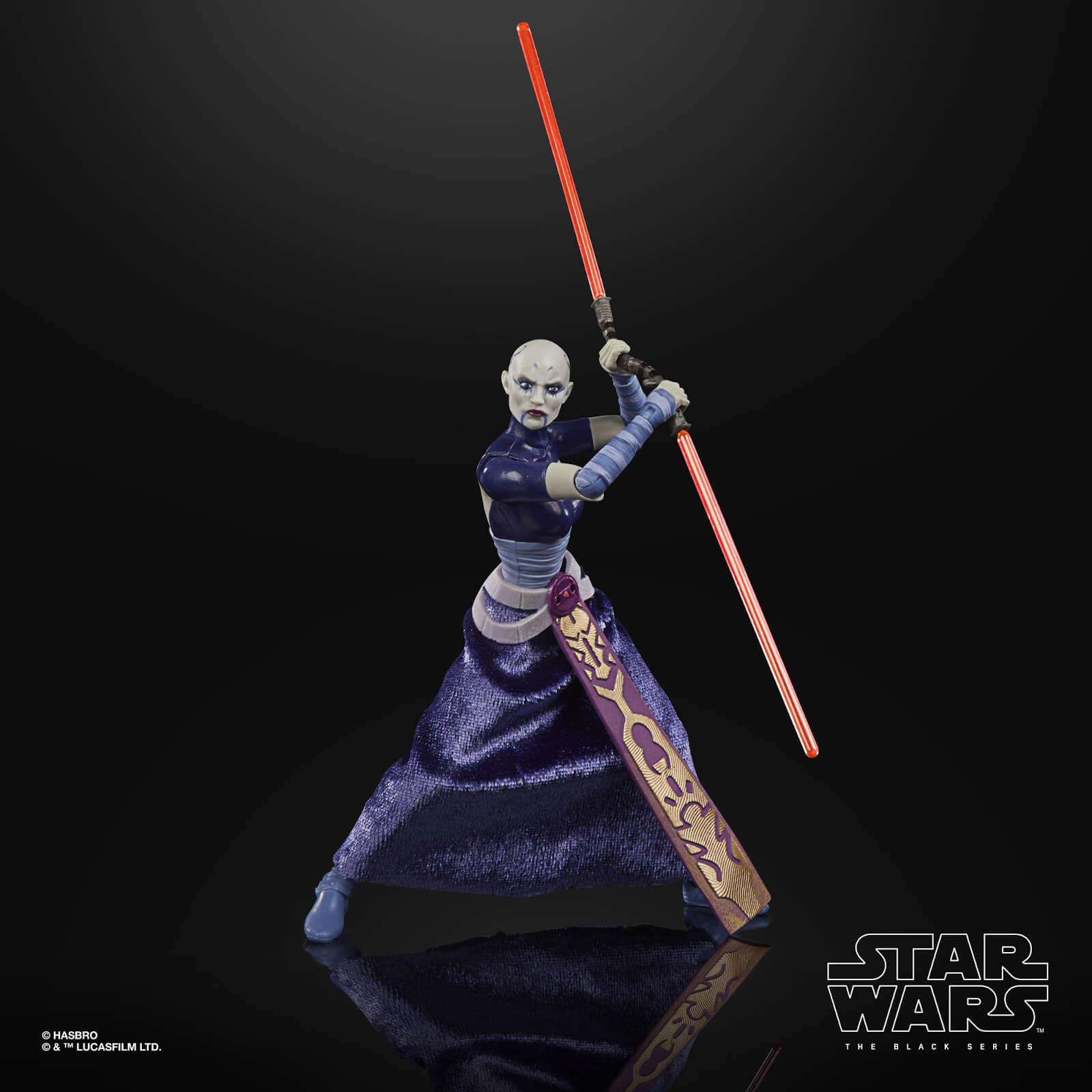 Star wars the black series asajj ventress 15cm2