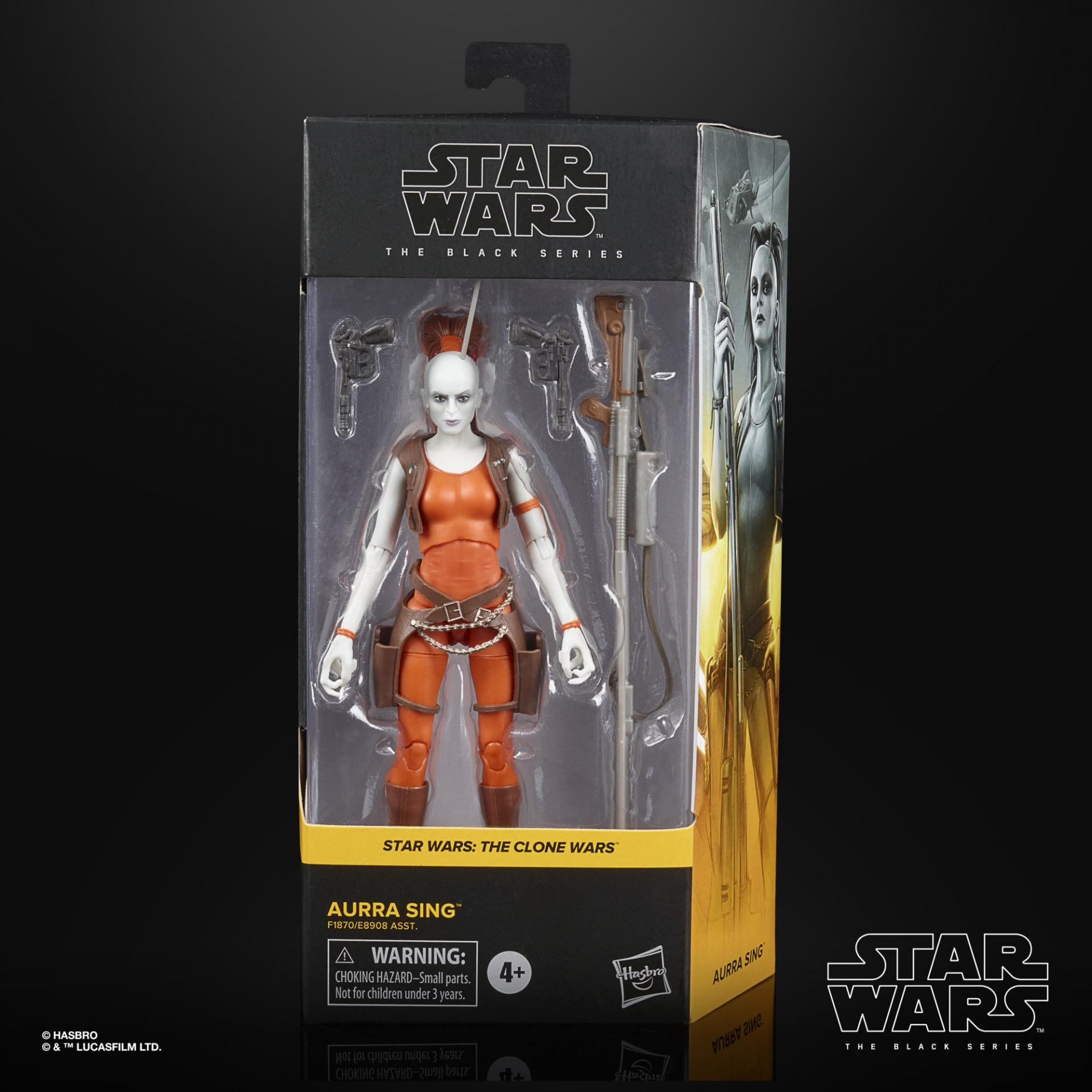 Star wars the black series aurra sing 15cm0