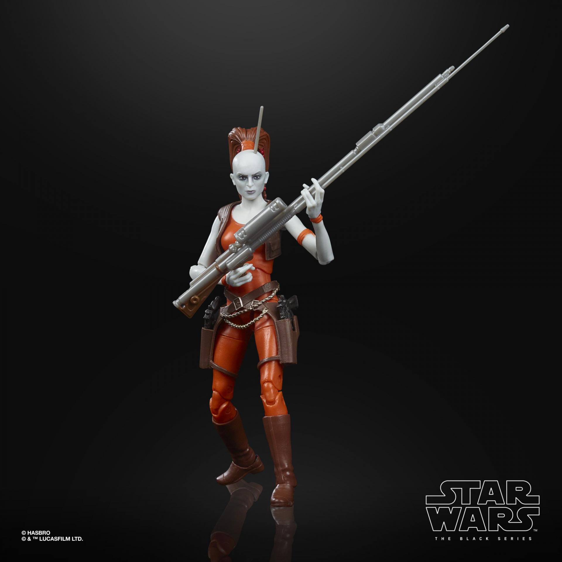 Star wars the black series aurra sing 15cm2