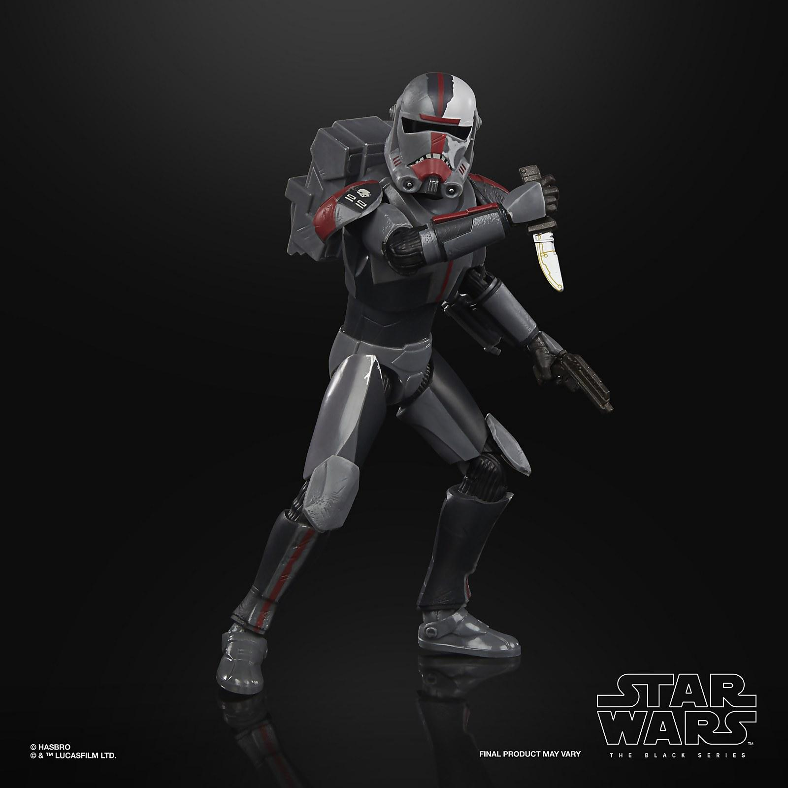 Star wars the black series bad batch hunter 15cm