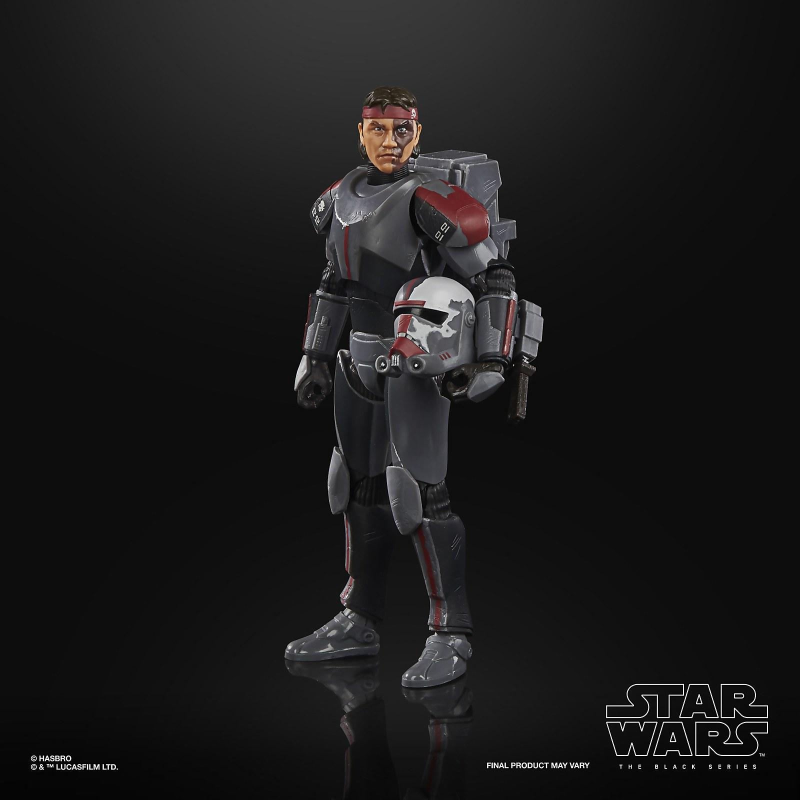 Star wars the black series bad batch hunter 15cm1
