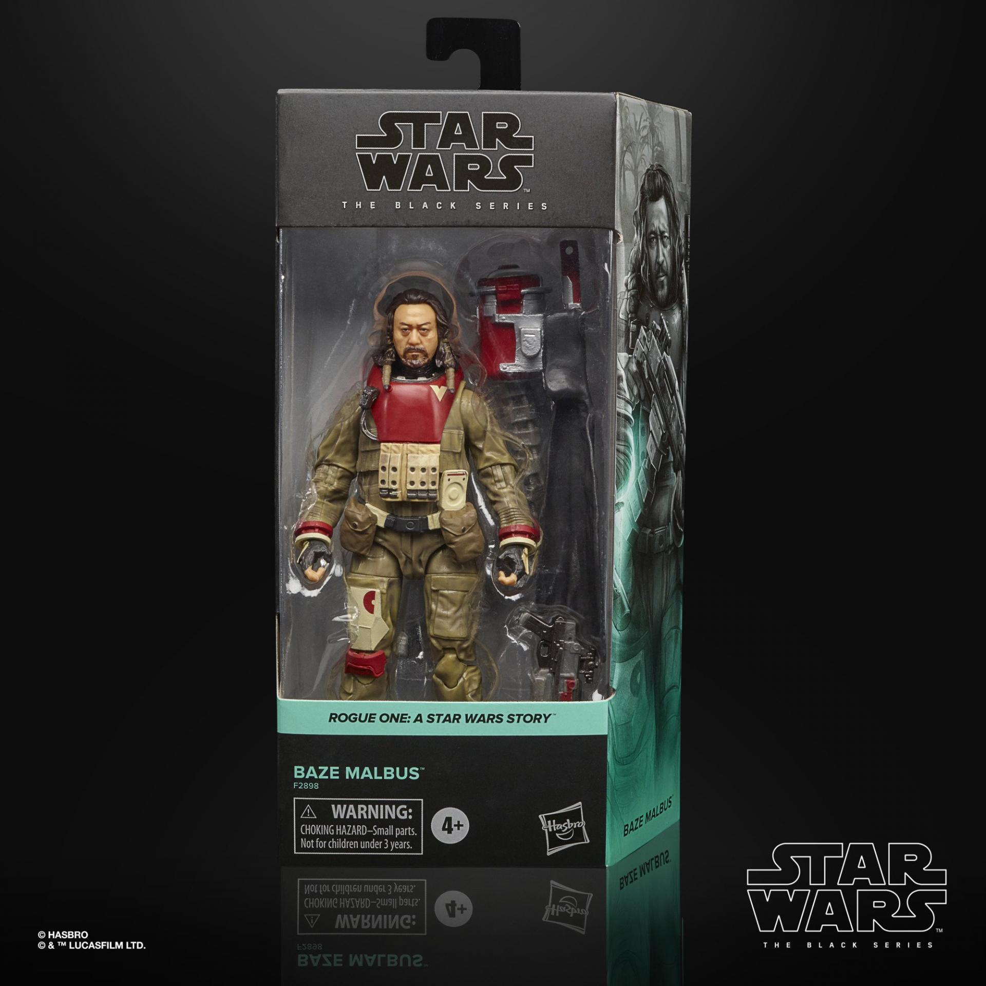 Star wars the black series baze malbus 15cm