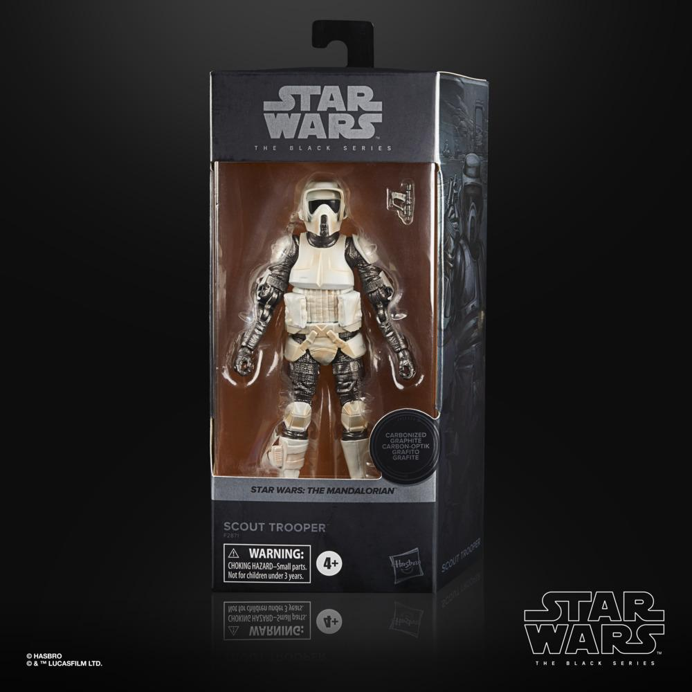 Star wars the black series carbonized collection scout trooper 15cm