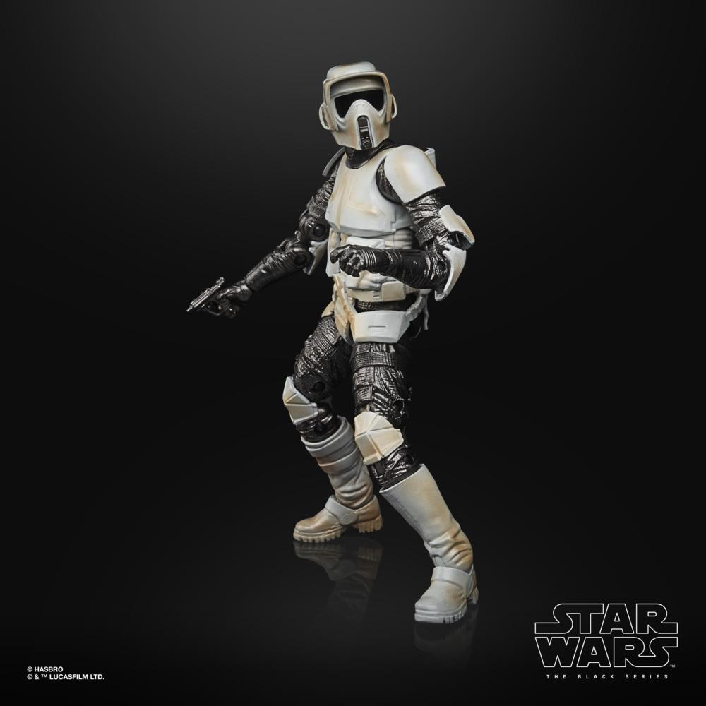 Star wars the black series carbonized collection scout trooper 15cm1